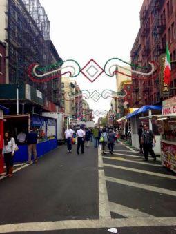 San Gennaro Festival in NYC