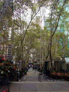 Bryant Park in New York City