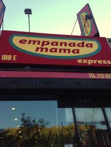 Empanada Mama, NYC food