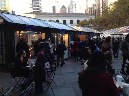 Winter Village at Bryant Park, NYC