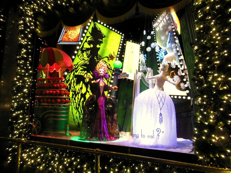 NYC Saks Holiday Windows